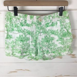 Lilly Pulitzer Buttercup Toile Print Shorts